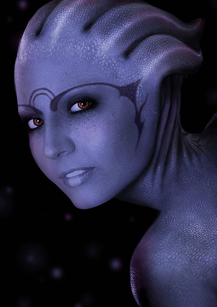 Asari By Missbasha On Deviantart