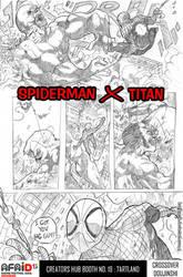 Spiderman X Titan by kostkomik
