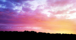 Pink Sky II by mickhummel