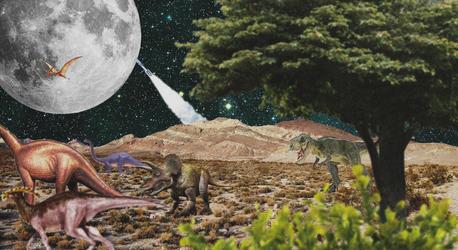 Dinosaurs by mickhummel
