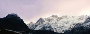 Himalayan Panorama by arcane-eponym