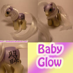 Baby Glow Kanji Pony by AnimeAmy