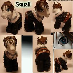 Squall Leonhart Pony by AnimeAmy