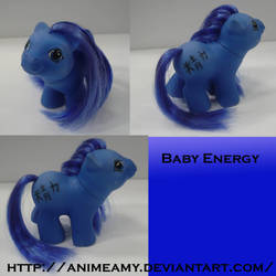 Baby Kanji Pony Energy by AnimeAmy