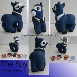 The Spy Team Fortress 2 by AnimeAmy