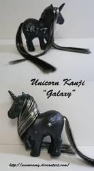 Kanji Galaxy Unicorn by AnimeAmy