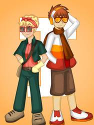 Felix and Marigold by ObedART2015