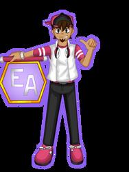Eclair Academy representative's Zack by ObedART2015