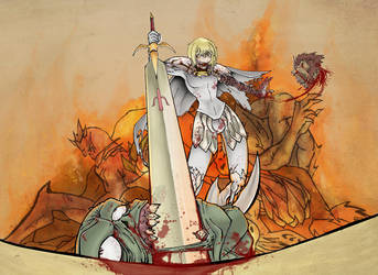 Claymore Clare -Bloody Frenzy- by knightsfaith