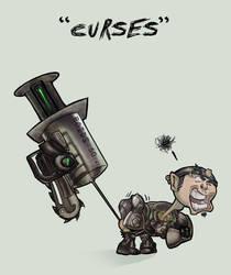 GOW2 Fenix--CURSES-- by knightsfaith