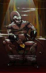 Majin Buu PuU by knightsfaith
