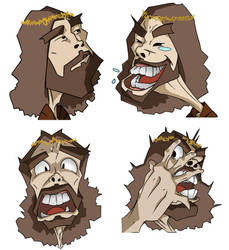 Four Faces of Disturbed by knightsfaith