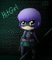 Hit Girl Chibi by CgSuikane