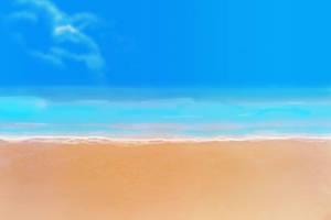 Anime Style Background - Beach by FireSnake666