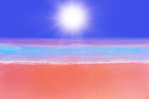 Anime Style Background-Beach 2 by FireSnake666