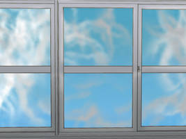 Anime Background: Windows by FireSnake666