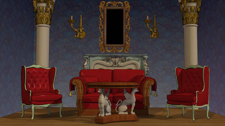Anime Background - Classy Interior by FireSnake666
