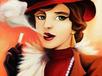 1920s Lady by Misty-Mirage