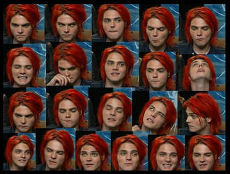 The Gerard Interview Faces xD by AmeliaKader