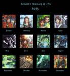 2013 Summary of Art by Ermelin