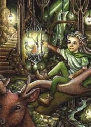 When Legolas was still a Dwarf x3 by Ermelin