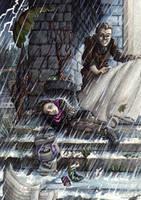 Rain by Ermelin
