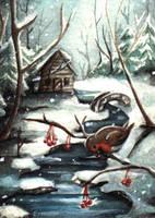 Winter Berries by Ermelin