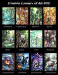 Summary of Art 2015 by Ermelin