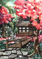 Tea Garden by Ermelin