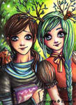 Collab with atorife by Ermelin