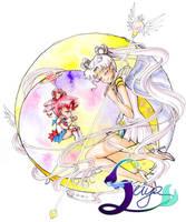 Moondala - Sailor Cosmos by seiyachan