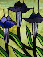 00049 - Stained Glass Flowers by emstock