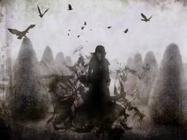 The Graveyard Walker by CorporalPhantom
