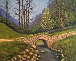 El Puente de Piedra by Shabriri-Lin
