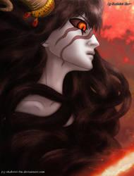 Carnelian Eyes's Burning Rage by Shabriri-Lin