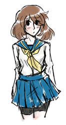 another school uniform May I guess by BakaChan53