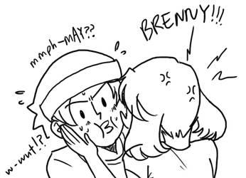 Bren and May being cuties by BakaChan53