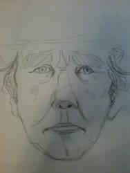 Portrait of a Man: 15 minutes by BakaChan53