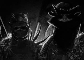 Samurai Orcs by TtoTheF