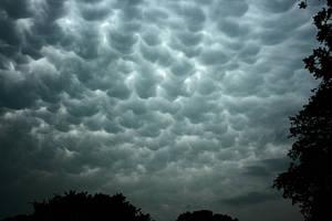 Mammatus Cloud Formation by netta43