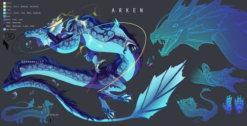 [HoD] Arken Dragon Form by Drakongeist