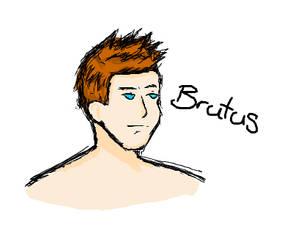 OC Brutus by CuteBlackWolf