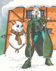 Snow Elf  by kaspired