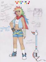 Kingdom Hearts: Rainbow Dash by SkyDragon90
