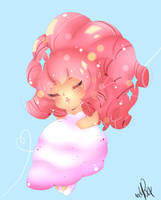 Chibi Rose Quartz by xxMiniPandaxx
