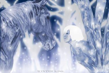 Winter kiss by AWEK