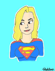 Supergirl by Sketchian