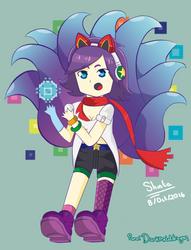 Arcade Ahri by Shintaragi