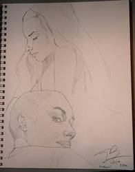 sketches of masha by sattch