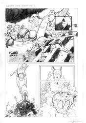Elektra Sequential Pg. 1 by sattch